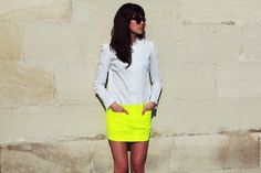 STREETFSN #bright #photography #street #fashion #sunnies #dress