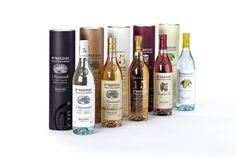 Grappa Nardini packaging on the Behance Network #group #grappa #packaging #nardini #design #spirits #hangar