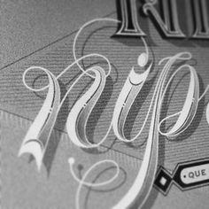Enisaurus #lettering #blackandwhite #typography