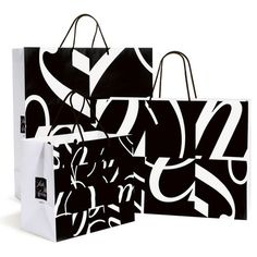 TheDieline.com: March 2007 posts #bag #black #typography