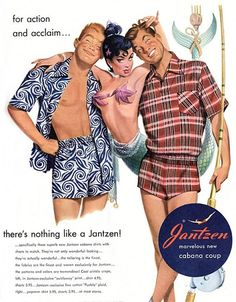 Jantzen Swimwear, 1950s | Retronaut #illust