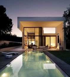 "CJWHO â""¢ (House in Rocafort, Valencia, Spain by Ramon Esteve...) #spain #valencia #design #pool #photography #architecture #luxury"