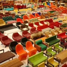 Junkculture #chair #toys