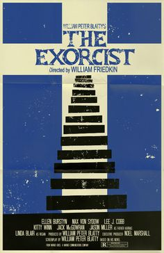 The Exorcist poster by ~markwelser on deviantART #movie #horror #poster