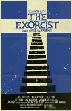 The Exorcist poster by ~markwelser on deviantART