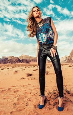 Annelyse Schoenberger by Jacques Dequeker for MOB Campaign