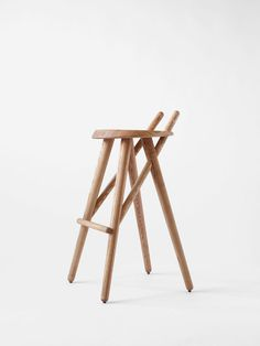 Barstool 02 – Matej Chabera #wood #chair