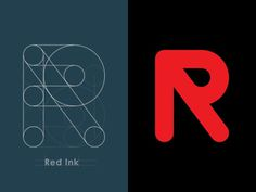 Red Ink Logo by Yoga Perdana #logo #red #ink