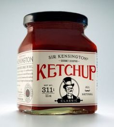 tumblr_lznqlj8Ju01r29ee5o1_500.jpg 474×530 pixels #old #lettering #ketchup #packaging #food #vintage #typography