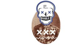 pierre de baron #website #logo #skull #poster