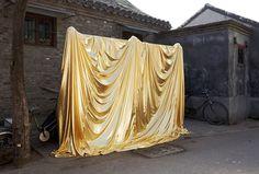 Roderick Hietbrink #draped #gold