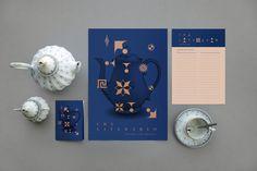 Chá Literário — Visual Identity on Behance
