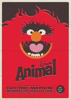 Things I like #pippo #de #muppets #poster #animal #michael