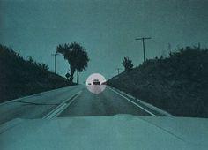 Google Reader (1000+) #retro #landscape #circle #collage #car