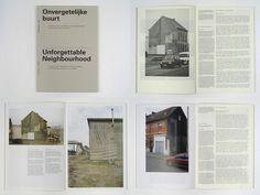 unforgettable neighbourhood #roger #willems #book #architecture #neighbourhood #layout #unforgettable