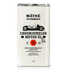 lovely package chromjuwel en motor ol 2 #packaging #typography