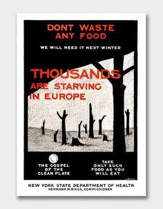 Clean Plate Gospel, 1917. / Aqua-Velvet #warning #1917 #mallory #poster