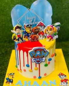 Paw Patrol Birthday Cake Ideas ,birthday cake,birthday theme cake,cake,cakes,tanviz dream oven,theme cake