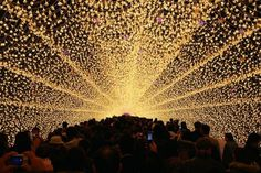 Japans Tunnel of Lights 4 #tunnel #light #japan #installation