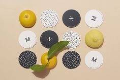 Manna by La Tigre #logo #coaster #branding