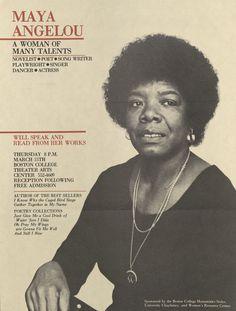 #Maya Angelou
