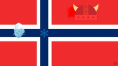 Norway flag by Frederatic