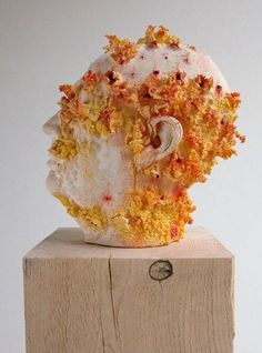 Matt King Studio #sculpture #head