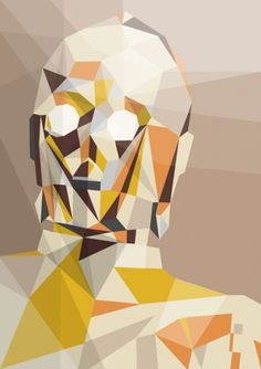 Liam Brazier illustration and animation #print #illustration #star wars #triangle