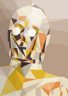 Liam Brazier illustration and animation #print #illustration #star wars #triangle