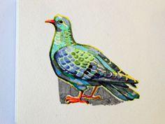 Pigeon #clothes #drawing #shirt #bird #illustration #wear #art #hand