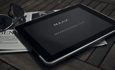 ipadmaan.jpg (Imagem JPEG, 800x488 pixéis) #ipad #design #sunglasses #newspaper #maan #studio