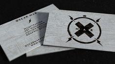 Portfolio 2013 on Behance #cut #business #card #rustic #oscar #oscarmar #laser #wood #mar #ocarmarstudio