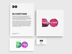 Digital October ONY #logo #identity #dynamic
