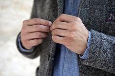 Convoy #fashion #wool #denim #tweed