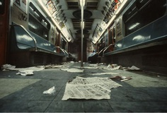 Rare Photos of NYC's Gritty Subway Conditions in 1981