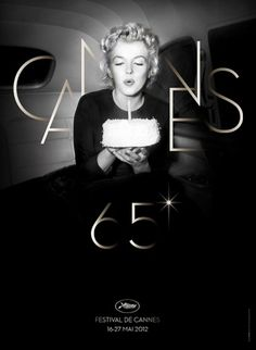 Marilyn Monroe Blows Out The Candle On The Poster For The 65th Cannes Film Festival | The Playlist
