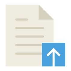 See more icon inspiration related to upload, document, file, archive and interface on Flaticon.