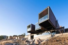 Caterpillar House by Sebastián Irarrázaval #modern #design #minimalism #minimal #leibal #minimalist