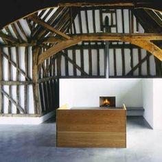 Architect Visit: Barn Conversions : Remodelista #architectu #barn #tilt #wood #john #minimal #pawson