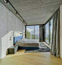 Concretus House is a Brutalist-Style Home in Cala Sardinera, Spain 11