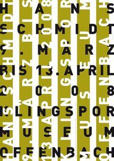 UWE LOESCH #uwe #design #graphic #poster #loesch #typography