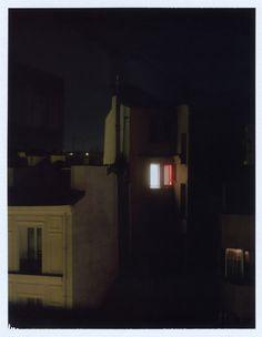 From the serie Appt. 1273 http://latelierdupoil.tumblr.com/ #fuji #polaroid #night #mamiya #instant #film #universal