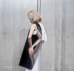 Yirantian Guo #fashion #photography #geometry #b&w