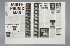 Untitled Document #newspaper #typography