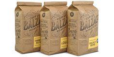 Balzacs Coffee - Sustainable Packaging Design