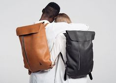 simple leather backpack by Jakob Lukosch #accessories #backpack #leather #fashion #personal