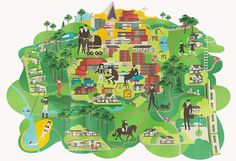 design work life » cataloging inspiration daily #illustration #identity #map