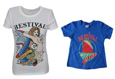 Bestival t-shirts #festival #design #shirt #illustration #typograph #shirts