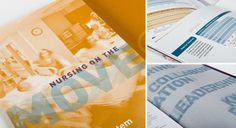 VCU School of Nursing Annual Report #brochure #design #annual #report