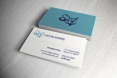 Surf HI business cards - Christopher Vinca